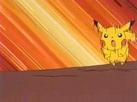Pikachu usando agilidad.