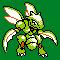 Imagen de Scyther variocolor en Pokémon Plata