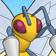 Cara de Beedrill 3DS.png