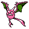 Imagen de Crobat variocolor en Pokémon Plata