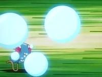 Tentacool usando Burbuja.