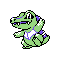 Imagen de Totodile variocolor en Pokémon Plata