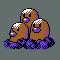 Imagen de Dugtrio variocolor en Pokémon Plata