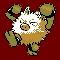 Imagen de Primeape variocolor en Pokémon Plata
