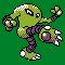 Imagen de Hitmonlee variocolor en Pokémon Plata