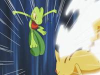 Pikachu utilizando ataque rápido