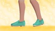 Zapatos Planos Verde.png