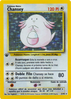 Carta de Chansey