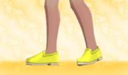 Zapatos Planos Amarillo.png