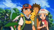 P10 Ash, Brock y Maya contemplando a Darkrai.png