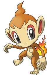 Chimchar en Pokémon Ranger 2.png