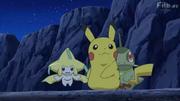 EP794 Pikachu y Axew con Jirachi.png