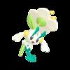 Floette blanca