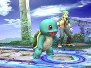Squirtle variocolor en Super Smash Bros. Brawl