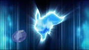 Archivo:EP797 Tres eeves evolucionando a flareon, jolteon y vaporeon.webm