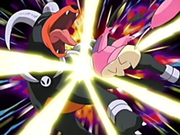 EP393 Skitty usando placaje sobre Houndoom.png