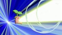Cherubi usando rayo solar.