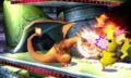 Charizard usando colmillo ígneo SSB4 3DS.png