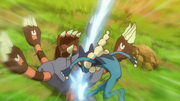 EP856 Frogadier usando golpe aéreo.png