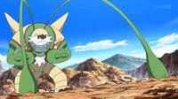 Chesnaught de Ichigaya usando látigo cepa.