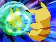 EP472 Elekid usando protección contra Pikachu.png