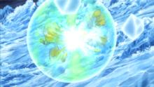 Mega-Metagross usando protección.