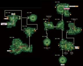Mapa de la ruta 20