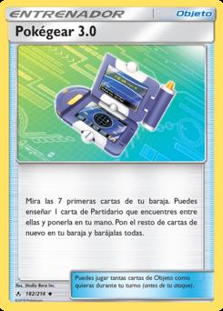 Carta Pokégear 3.0