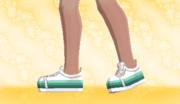 Zapatillas de Deporte Verde Gradual F.png
