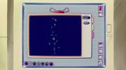 Pantalla de ordenador de Oak donde se aprecia un icono de mensajería Pidgey.
