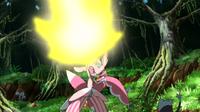 Lurantis dominante usando cuchilla solar.