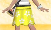 Falda de Flores Amarillo.png