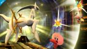 Arceus atacando SSB4 Wii U.png