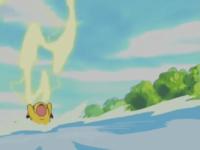 Pikachu usando Trueno.