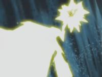 Pikachu usando Rayo..