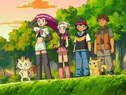 EP523 Jessie, Meowth, Maya, Ash y Brock contemplando a James.png