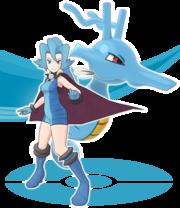 Débora y Kingdra Pokémon Masters.png