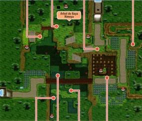 Mapa de la ruta 19