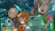 EP846 Beni Trovato y Xana con sus Pokémon.jpg