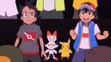 Error en la mano de Ash.