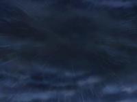 ...hasta que empieza llover con fuerza.