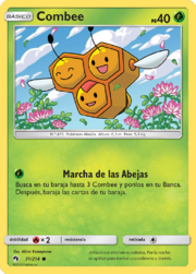 Combee (Truenos Perdidos TCG).png
