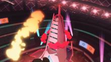Duraludon Gigamax de Roy usando Cometa draco.