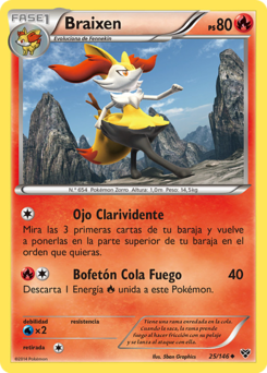Carta de Braixen