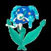 Florges azul