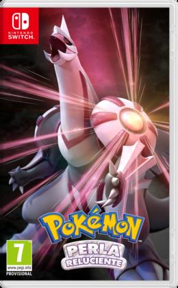 Carátula Pokémon Perla Reluciente