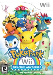 Carátula PokéPark Wii- La gran aventura de Pikachu.png