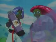 El Equipo/Team Rocket lo usa para cambiar la voz de la Oficial Jenny/Agente Mara para que los Growlithe no reconozcan su voz y no la obedezcan.