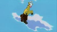 Girafarig usando pisotón.