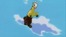 Girafarig usando Pisotón